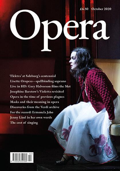 Opera October 2020 cover