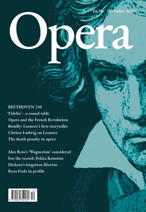 Opera December 2020 cover