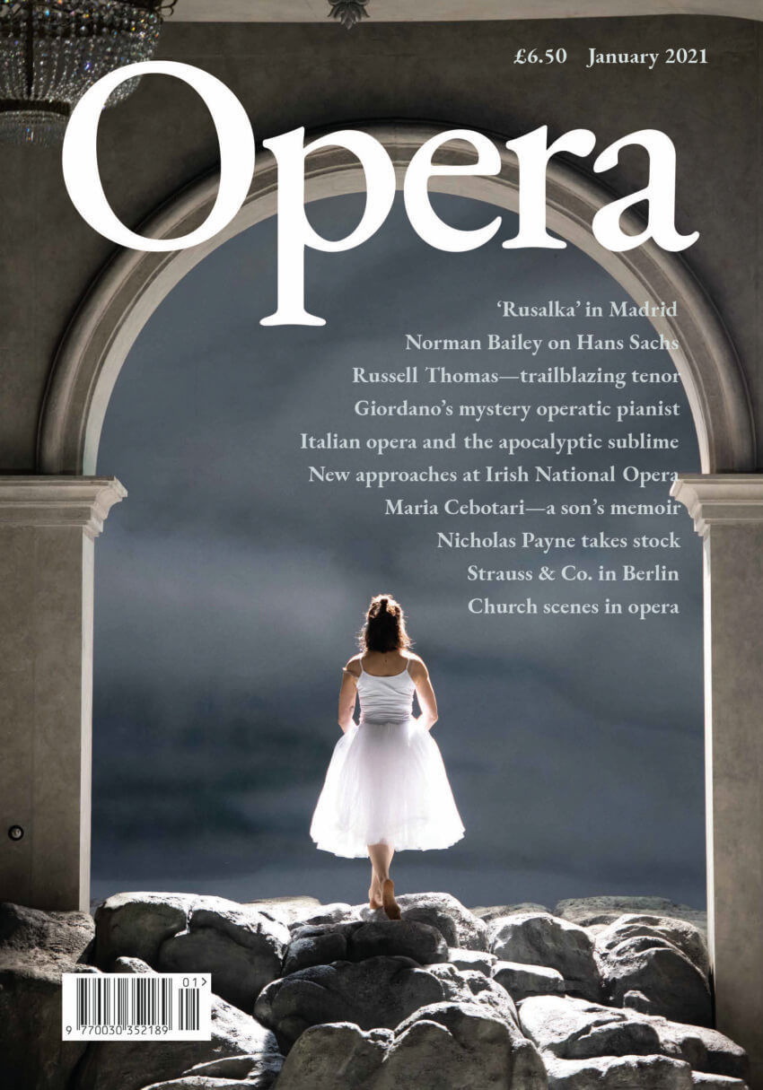 Opera January Vol 72 No.1