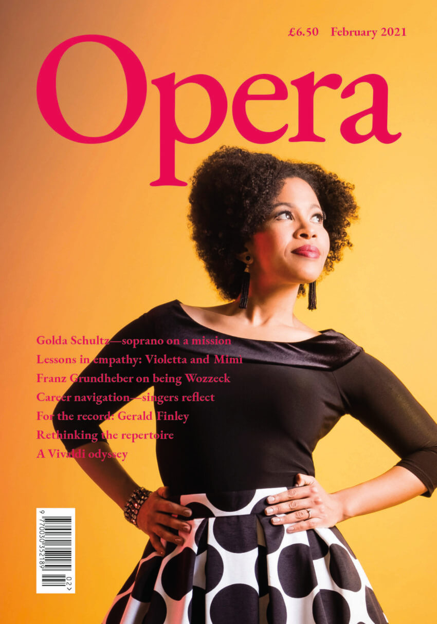 Opera February 2021 cover