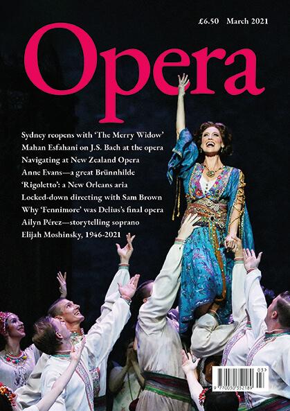 Opera March 2021 cover