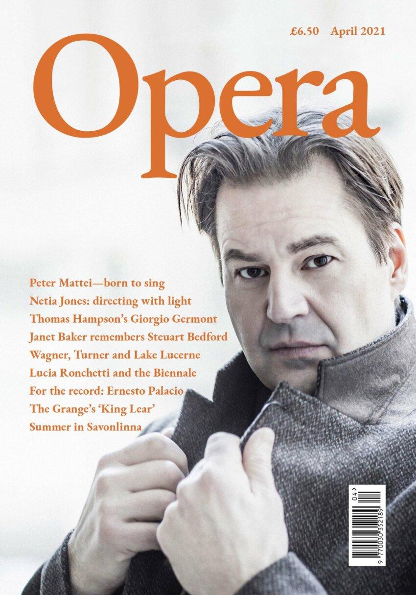 Opera April 2021 cover
