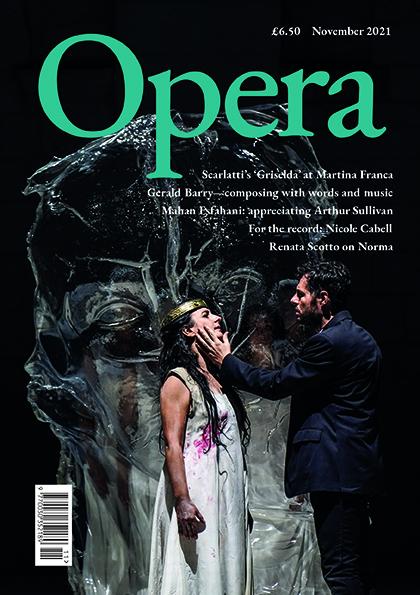 Opera November 2021 cover
